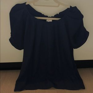 Joie silk top with tie bow